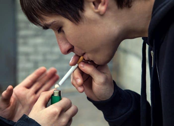Cómo saber si mi hijo fuma