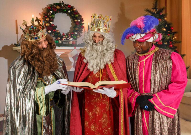 La foto de los Reyes Magos o Papá Noel en tu casa
