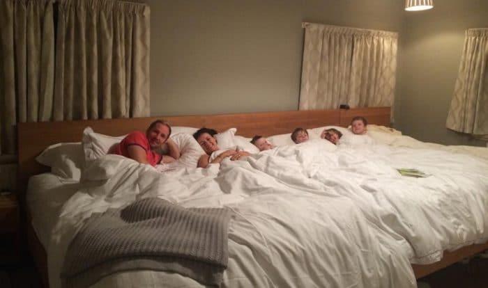 colecho cama 5 metros dormir 4 hijos
