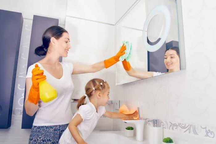 niños participan tareas domésticas responsables creativos disciplinados