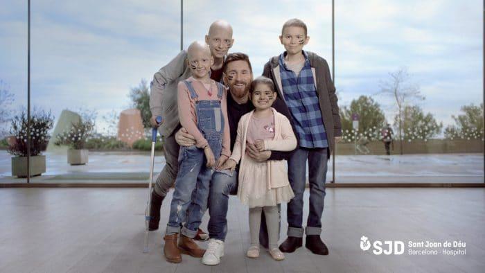 Fundación FC Barcelona y Fundación Leo Messi niños cáncer