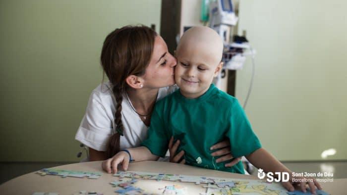 Hospital Sant Joan de Déu niños cáncer