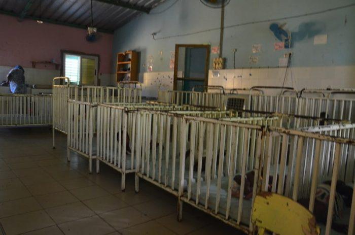 orfanato bebés no lloran