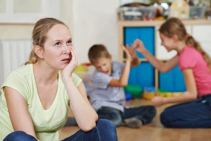 Agotamiento psicologico padres