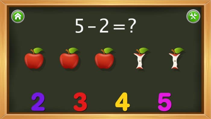 App matemáticas Kids Numbers and Math