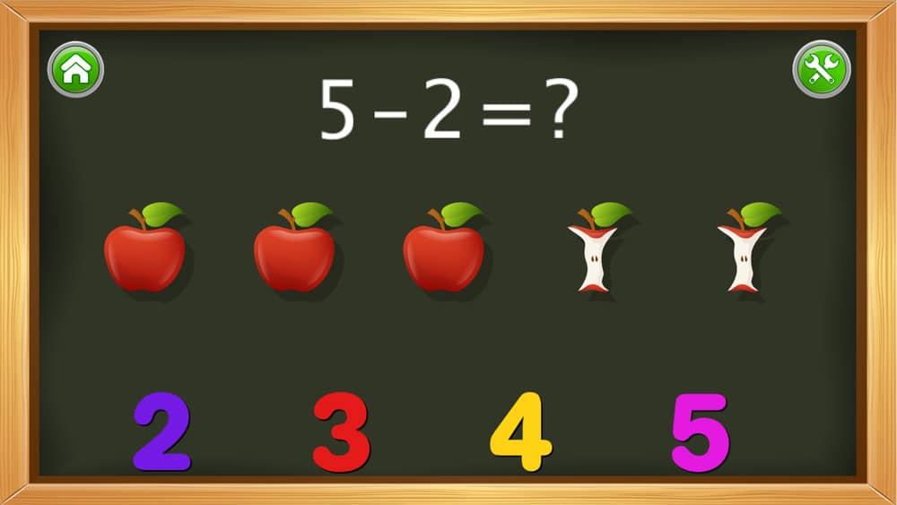 App matemáticas Kids Numbers and Math