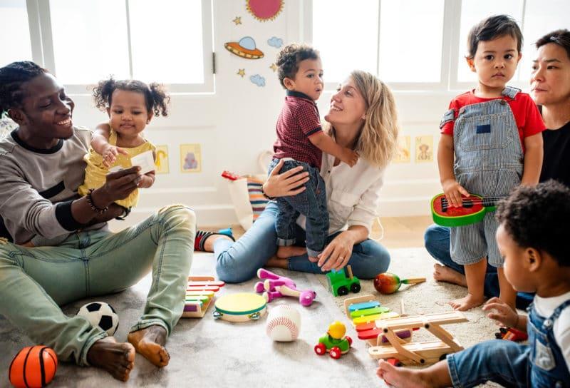 Compartir niños