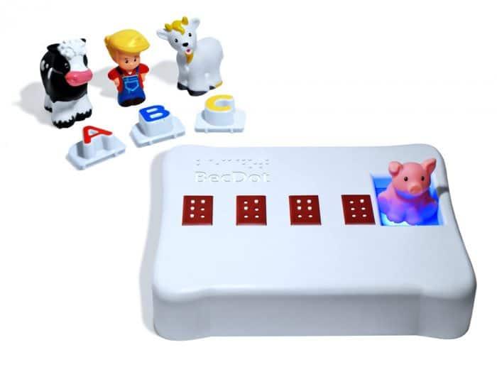 Juguete BrailleBecDot