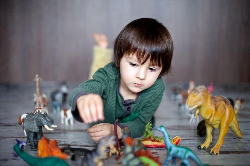 Obsesión niños dinosaurios beneficia cerebro