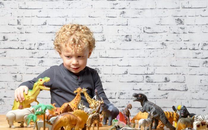 Por qué a los niños les gustan tanto los dinosaurios