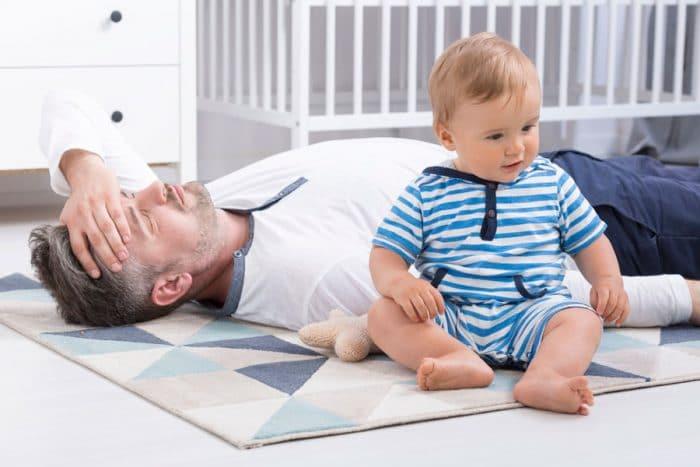 agotamiento cronico padres