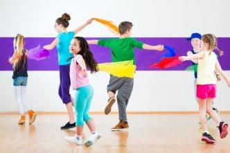 beneficios de bailar para los niños