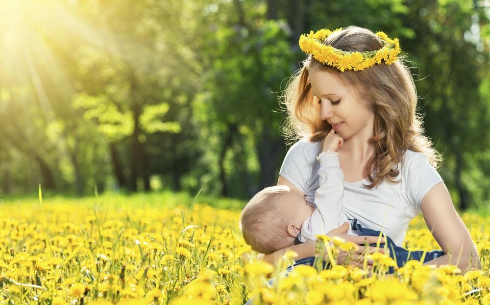 lactancia materna vegetariana