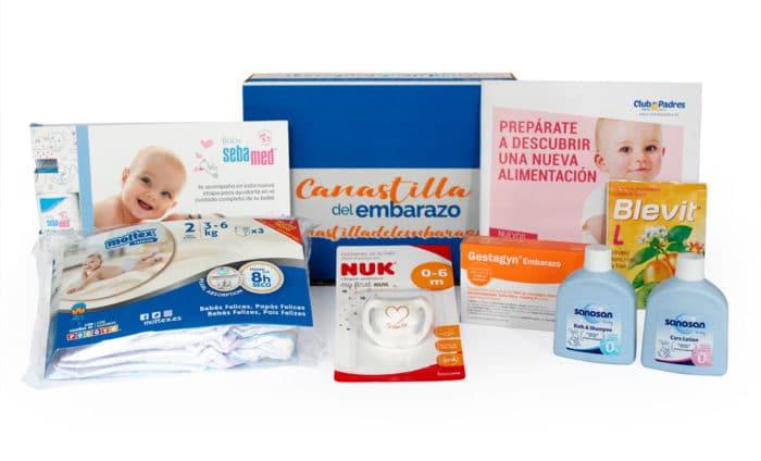 Canastilla embarazo