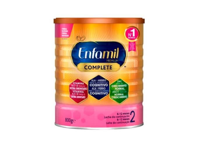 Muestra gratis leche formula Enfamil Premium Complete