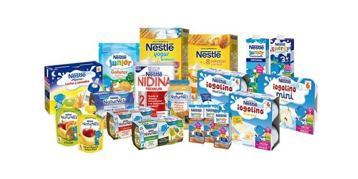 Nestlé canastilla y muestras gratis