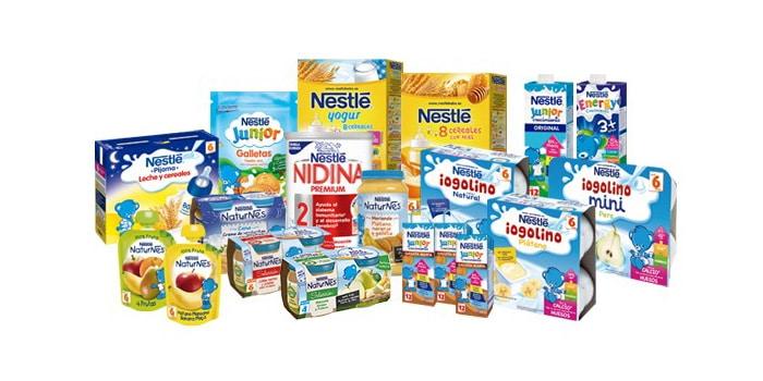 Nestlé canastilla