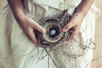Síndrome del nido madre embarazada