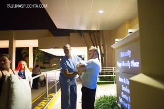 El parto en el coche: Puerta del hospital
