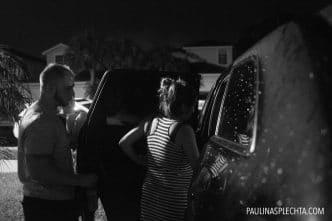 El parto en el coche: En marcha