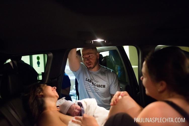 El parto en el coche: Nacimiento