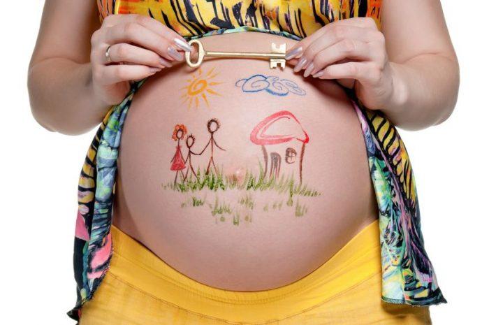 pintar barriga embarazada facil