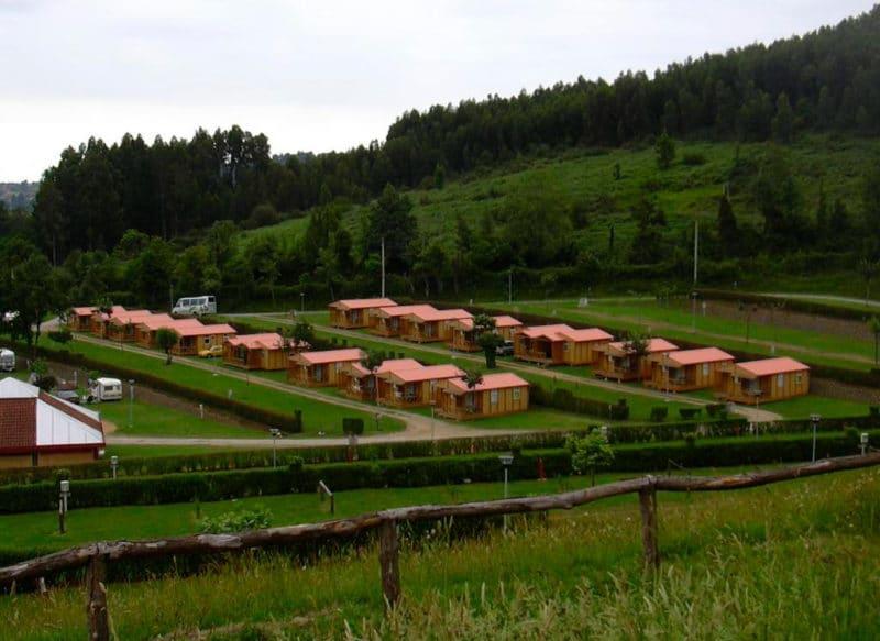 Camping Deva, en Gijón, Asturias
