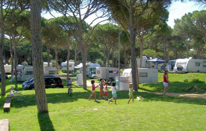 Camping Pinar San José, en Los Caños de Meca, Cádiz