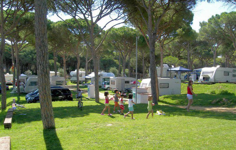 """Camping """"Pinar San José"""", en Los Caños de Meca, Cádiz"""