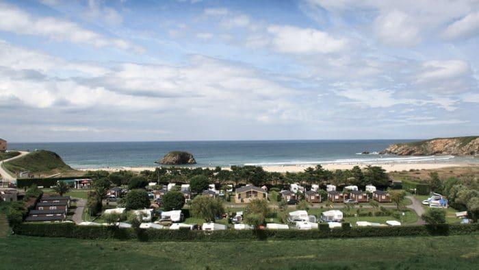 Camping Playa Penarronda Asturias