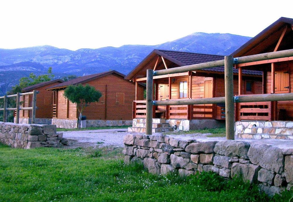Camping rural Cañones de Guara y Formiga, en Panzano, Huesca