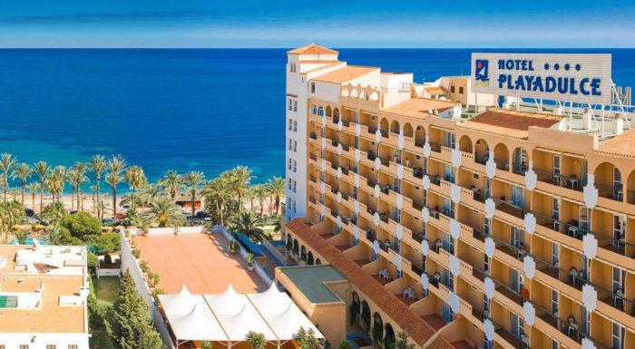 Hotel Playadulce, en Aguadulce, Almería