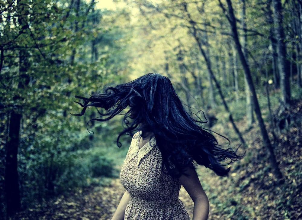 Mujer con miedo