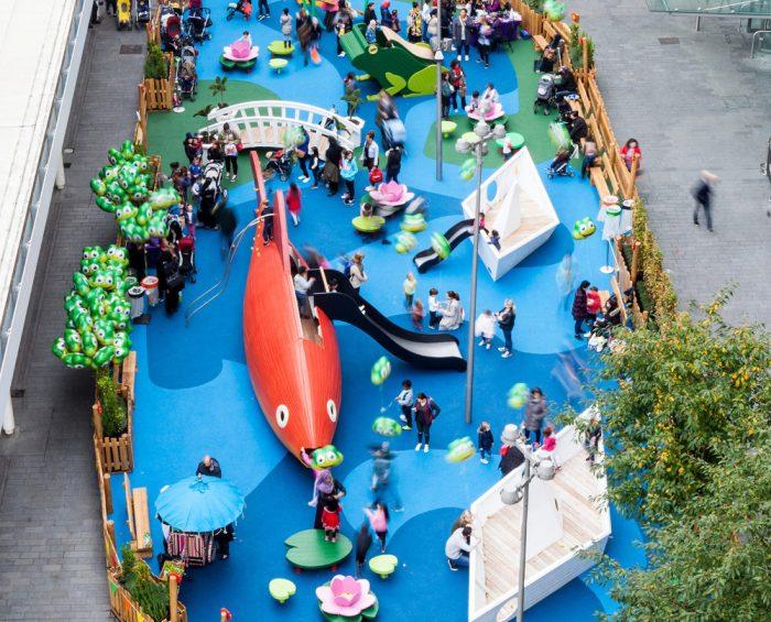 Parque infantil danes Dammen 1