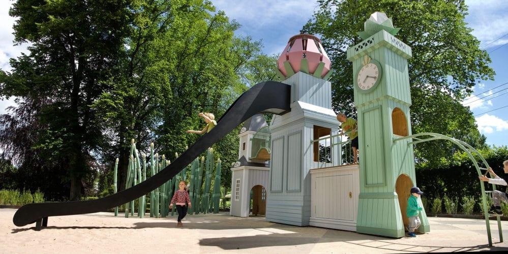Parque infantil danes Linneparken 1