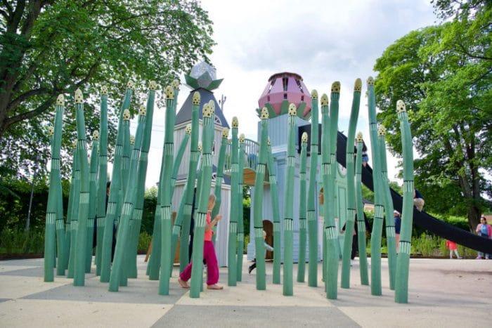 Parque infantil danes Linneparken 2