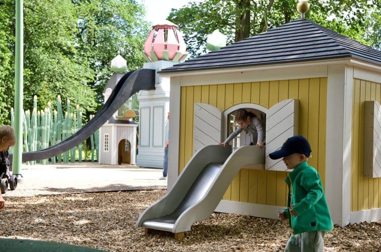 Parque infantil danes Linneparken 3