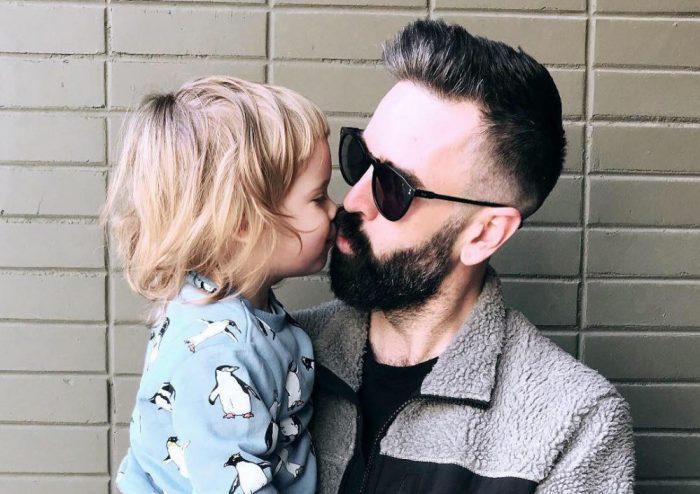 Zoomer y su padre