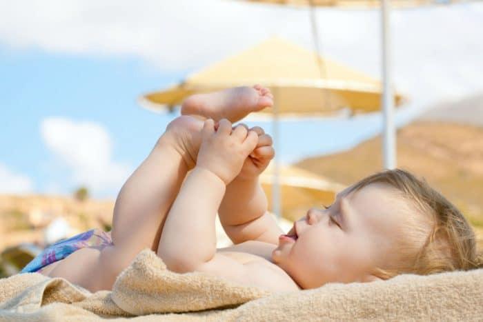 crema solar bebes