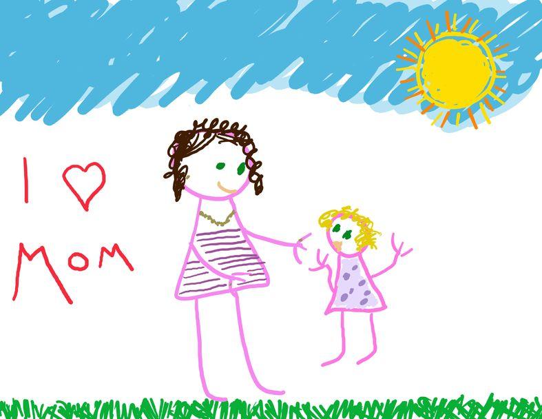 Tu hijo expresa sus emociones a través del dibujo
