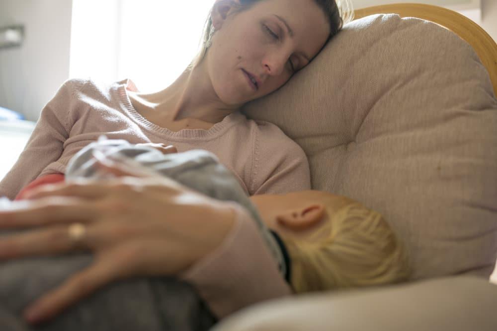 madre cansada