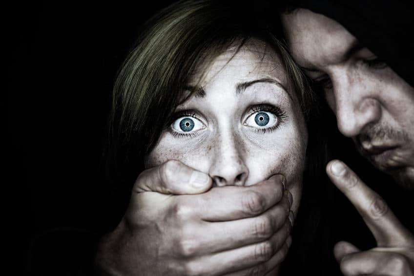mujer maltratada