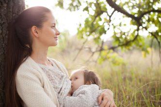 Lactancia materna cerebro bebé