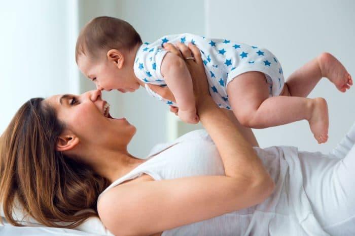 Los superpoderes en los besos de tu bebé
