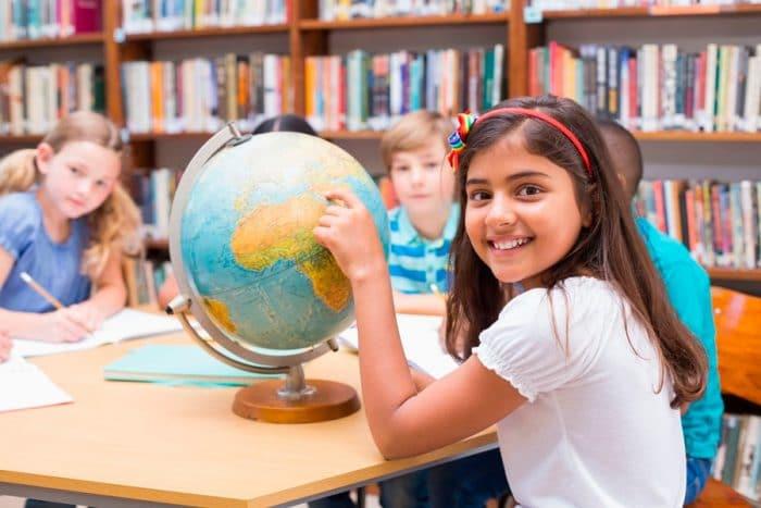 Aprender geografía para niños