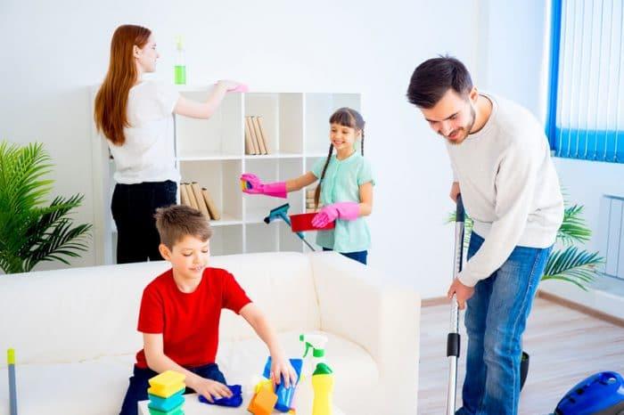 Tareas domésticas niñas