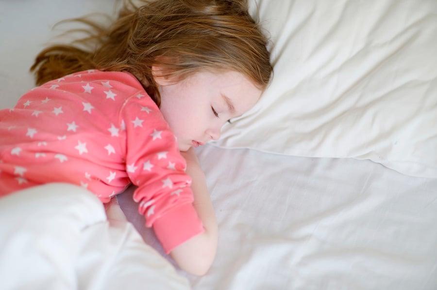 Horas de sueño niños según edad