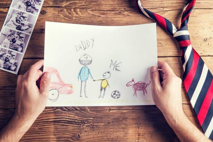 interpretar dibujo familia niños