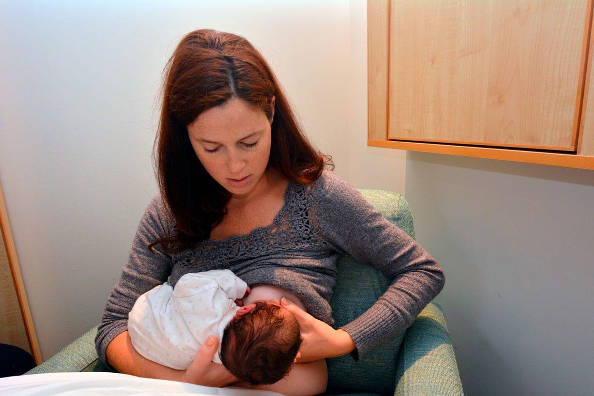 pautas alimentar bebé recién nacido