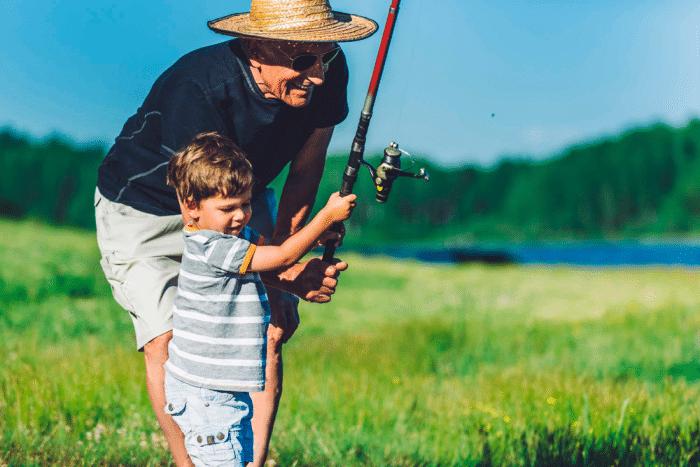abuelos conectan nietos
